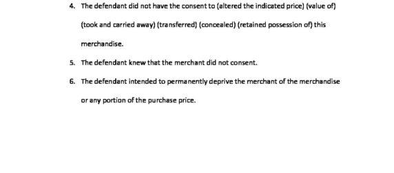 Retail Theft 943.50(1m)