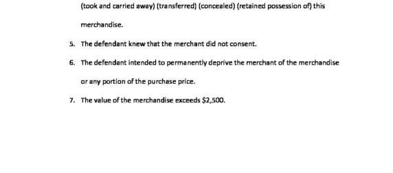 Retail Theft 943.50(1m)(b)
